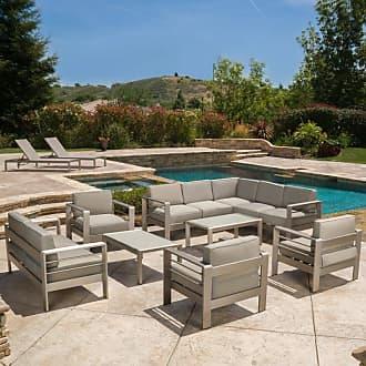 BEST SELLING HOME Outdoor Skylar 10 Piece Patio Conversation Set - 298172