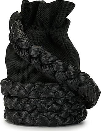0711 Small Freja bucket bag - Black