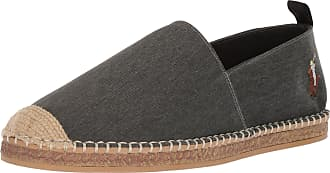 Ralph Lauren Mens Barron Slipper, Black, 10 UK