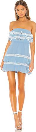 X by NBD Diana Mini Dress in Blue