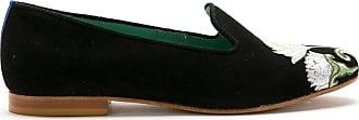 Blue Bird Shoes Loafer Le Jardin de camurça - Preto