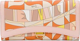Emilio Pucci Carteira com estampa abstrata - Neutro