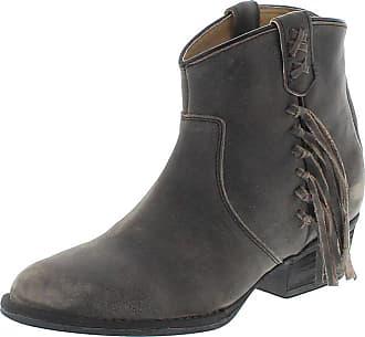 Mezcalero Mezcalero Shoes 2018 MARIAN Negro Damen Ledersiefelette - schwarz