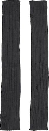 Rick Owens Ribbed Wool Arm Warmers - Navy