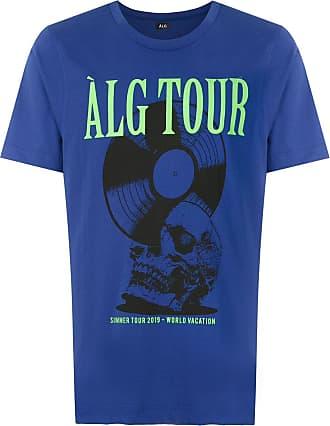 À La Garçonne alg tour T-shirt - Azul