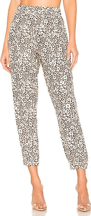 ATM Anthony Thomas Melillo Lunar Leopard Silk Jogger in Brown