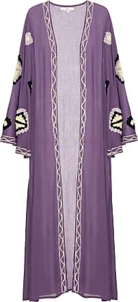 America & Beyond Kimono Montana Roxo - Mulher - S US