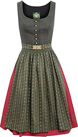 0d49fdf91670d7 Hammerschmid Damen Trachten-Mode Midi Dirndl Fuschelsee in Oliv traditionell,  Größe:44,