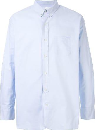 Makavelic Camisa estampada com abotoamento - Azul