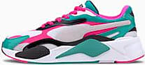 Puma Womens PUMA Rs-X Plastic Trainers, White/Pink, size 10.5, Shoes