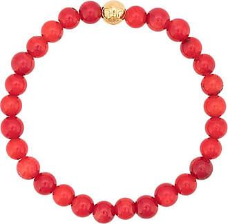Nialaya faceted bead bracelet - Red