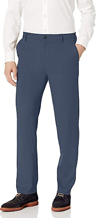 Van Heusen Mens 505M131 Dress Pants, Blue Haze, 34W x 30L