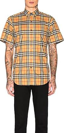 Burberry Jameson Tapered Shirt in Yellow