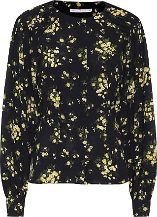 Emilia Wickstead Margot floral stretch-crêpe blouse