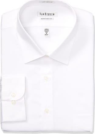 NWT NAUTICA MENS DRESS SHIRT REGULAR FIT-GRAY  PLAID-15.5 32//33