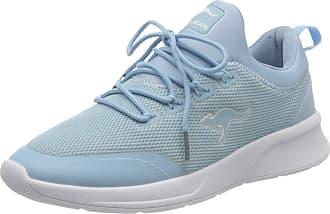 Kangaroos Womens KF-A Glide Low-Top Sneakers, Blue (Blue Sky 4135), 5 UK