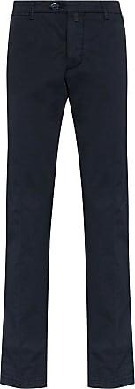 Kiton Calça chino reta - Azul