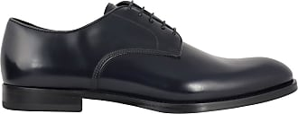 Doucal's Leather Derby lace-ups, 41.5 Dark Blue