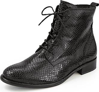 Softwaves Fabi lace-up ankle Softwaves black