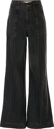Ingorokva Calça jeans flare Ivette - Preto
