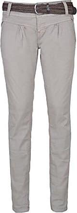 d72d16b06ea03f Urban Surface Damen Chino-Hose I Elegante Stoffhose mit Flecht-Gürtel aus  bequemer Baumwolle