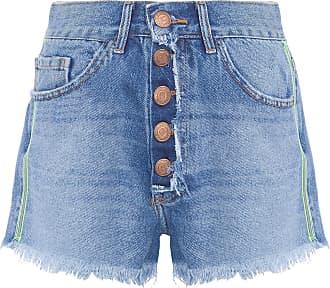 FYI Short Jeans Botões - Azul