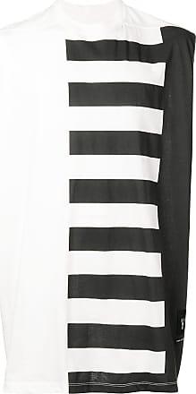 Rick Owens Camiseta Piano Key - Branco
