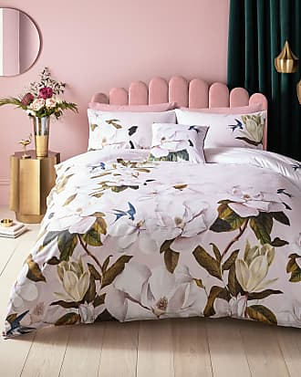 Ted Baker Opal Cotton King Duvet Cover in Pale Pink OZILI, Home