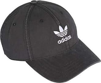 buy popular 5e62e 0671f adidas Originals Unisex Washed adicolor Baseball Cap, Black White, OSFM