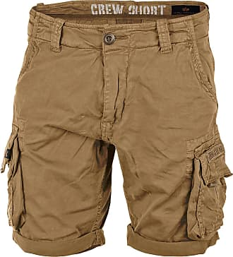 Alpha Industries Crew Shorts khaki, Größe 31