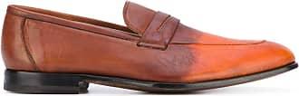 Kiton degradé penny loafers - Brown