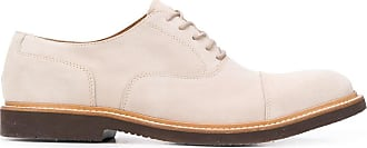 Eleventy lace-up suede shoes - Grey