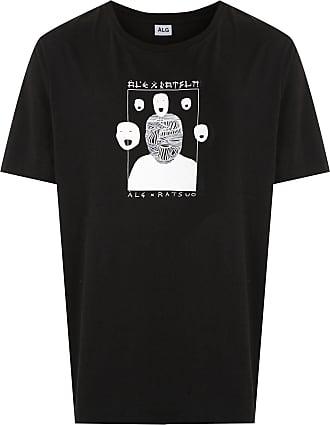 À La Garçonne T-shirt básica + Ratsuo - Preto