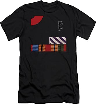 Popfunk Pink Floyd The Final Cut Unisex Adult Canvas Brand T Shirt for Men and Women Black