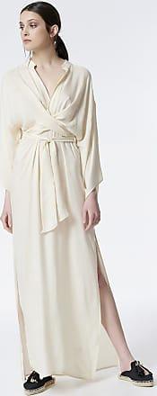 Sugarfree Long wrap dress in cutouts