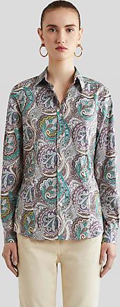 Etro Paisley Print Cotton Shirt, Woman, Multicolor, Size 38