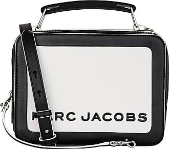 Marc Jacobs Umhängetasche THE BOX - SCHWARZ/ WEISS