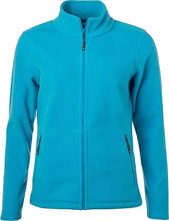 James & Nicholson JN781 Womens Fleece Jacket Turquoise XXL
