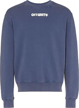 Off-white skull print sweatshirt - Azul