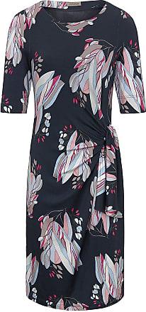 Uta Raasch Jersey-Kleid Rundhals-Ausschnitt Uta Raasch mehrfarbig