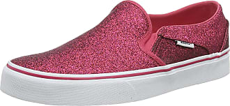 Vans Womens Asher Slip On Trainers, Pink ((Glitter Rainbow) Pink Xwp), 5.5 (38.5 EU)