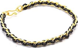 Tinna Jewelry Pulseira Dourada Corrente (Silicone)