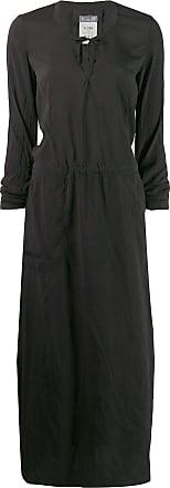 Kristensen Du Nord long-sleeve flared dress - Preto