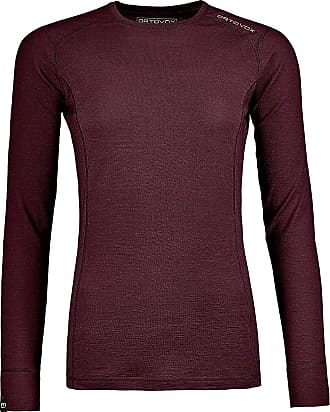 Ortovox 145 Ultra Tech Tee LS dark wine