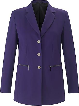 Emilia Lay Jersey blazer long sleeves Emilia Lay purple