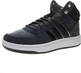 best service 33ce8 d44f3 adidas Womenss Hoops 2.0 Mid Basketball Shoes, Black Cblack Silvmt, 5.5 UK