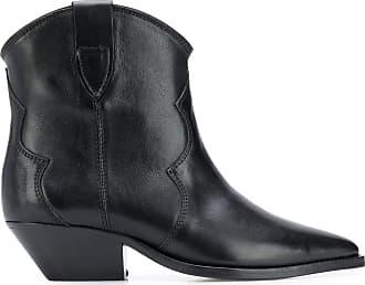 Isabel Marant Ankle boot bico fino Dewina - Preto