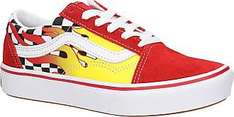 Vans Comfycush Old Skool Flame Sneakers checkerboard / red