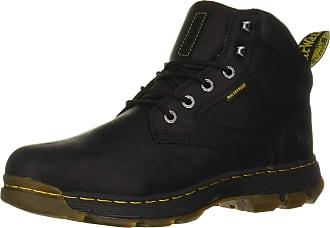 Dr. Martens Mens Holford Classic Boots, Black (Black Connection Wp 001), 13 UK (48 EU)