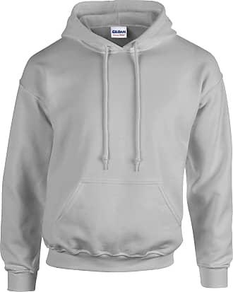 Gildan Heavy Blend Adult Unisex Hooded Sweatshirt/Hoodie (3XL) (Sport Grey)